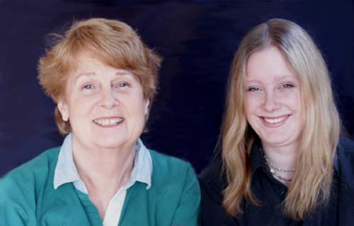 Bonnie Buxton and Daughter Collette
